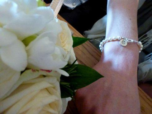 Bracelet on Claire